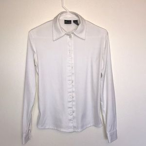 NY & CO - Fold over Collar - White Button